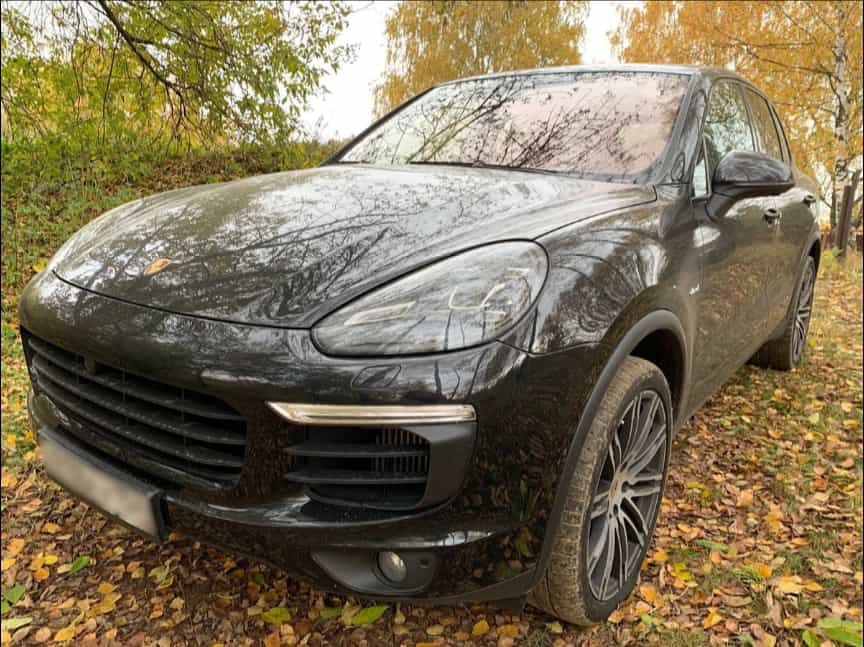 Деньги под залог Porsche Cayenne